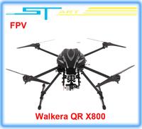 Free shipping Walkera QR X800 Brushless motor FPV GPS Drone RC Quadcopter BNF RTF helicopter VS QR X350 pro DJI Phantom 2 V gift