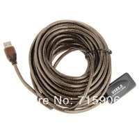 10m USB Active Repeater High Speed Extension Extender Cable Lead USB2.0 480Mbp