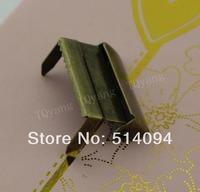 Bronze metal Suspenders adjust  buckles  2.5cm wide  Craft materials (500 pc / pack  )