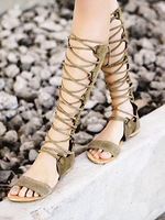 2014 New arrival genuine leather cutout cross straps sexy fashion flat sandals open toe sandals cool summer boots