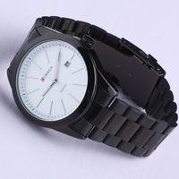 New Arrival Retail Brand CURREN Alloy Men's Watches,2 Colors Men's Casual Quartz Wrist Watch With Date Calendar,Gift Watch