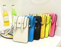 2014 mobile phone cross-body bag mini bag vintage small messenger bag female one shoulder coin purse bag