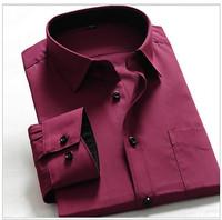 free Shipping New Korean Fashion Stylish Casual shirts Slim Fit Long Sleeve Men's Shirt Tops 32
