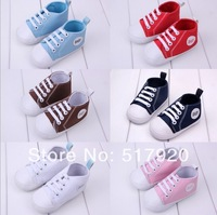 Special offer baby shoes classic canvas shoes baby soft bottom toddler shoes 7 colour 11-13cm