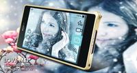Love mei Metal Bumper Aluminum case For Sony Xperia Z2 L50w Free shipping MOQ:20pcs