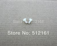 100pcs ~ transparent nylon screw / insulation column plastic fasteners nylon cylinder head screws Phillips