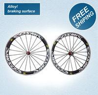 alloy braking surface wheels, carbon wheels, 50mm road bike wheelset, road wheels