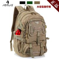 Aerls backpack travel bag large capacity canvas bag laptop bag school bag backpack