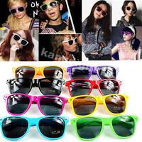 Multi Color Super Fashion Wayfarer Vintage Retro Trendy Cool Sunglasses Unisex-PY