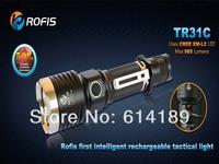 Rofis TR31C CREE XM-L2 985 Lumens 7-Mode LED Flashlight (2xCR123A/1x18650/2x16340)