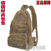 Aerlis man bag backpack outdoor canvas bag casual bag portable multifunctional one shoulder ride