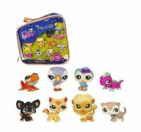 Littlest Pet Shop Collector's Starter Pack 8 Pcs Pets Girl Toys DH381