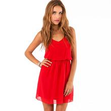 silk sleeveless dress promotion