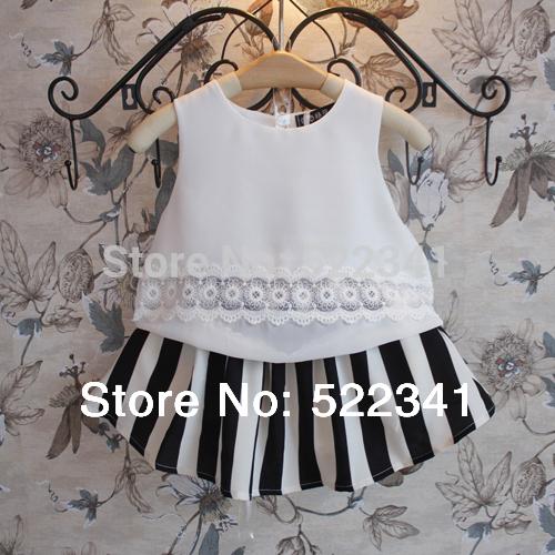 2015 new style children's summer fashion baby girls chiffon vest sleeveless T-shirt pretty cute vest tops for children(China (Mainland))