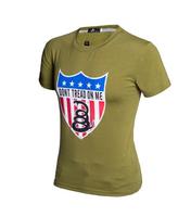 mens t shirts fashion 2014 printed t shirt men brand t shirt dont tread on me man shirt  casual