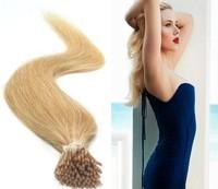 cuticle remy human hair deep  fumi 100%Remy Hair Stick Tip Human Hair Extension   closure apliques de cabelo humano loiro