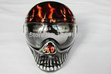 Anti Fog máscara tático para os jogos CS Máscara Facial protetor Paintball(China (Mainland))