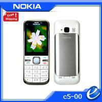 C5-00 original Nokia C5 00 unlocked Original 3G mobile phone 3.2MP Camera GPS Bluetooth FM cellphones free shipping