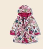 Hot sale 2014 new arrival UK design kids coat girl's coat children trench girls windbreaker Cheapest price from factory