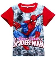 2-7Y SPIDER-MAN CHILDREN CLOTHING/T-SHIRT - VPT07-8001R