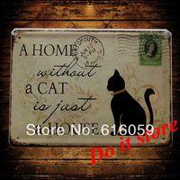 [ Do it ] Vintage Tin Signs PUB House Cafe Retro Metal painting Retro Craft Decor 15*21 CM N-103