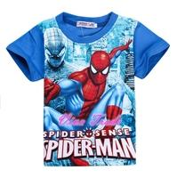 2-7Y SPIDER-MAN CHILDREN CLOTHING/T-SHIRT - VPT07-8001B