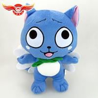 "Wholesale 4pcs/lot Fairy Tail 12"" inch 30cm Cute Happy plush Doll Stuffed toy Retail EW-H-AP-054"