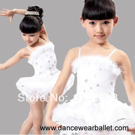 Ballet Vestido De Gasa Para Los Ninos Bailarina Traje De La Danza ...
