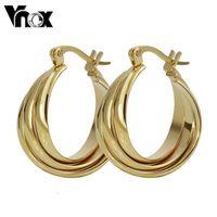 Fashion earrings for women  wholesale  gold color  hoop  earrings  jewelry free shipping