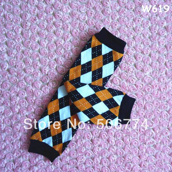 2014 hot sale cotton plaid tights children long warm socks infant leggings wholesale baby leg warmers(China (Mainland))