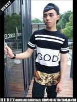 2014 new Book fashion black summer long design t-shirt god   pyrex swag skateboard t shirt