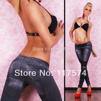 Free shipping! Women's Fashion Leggings high Stretch Skinny Leg Pants Jeggings