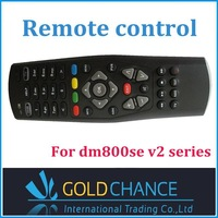 Black dm800se v2 remote control For dm800se v2 series Satellite Receiver free shipping