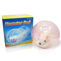 Fantastic ! New Arrive OFunny White Rolling Running Hamster Ball Pet Children Toys Gifts reeshipping&Wholesale Feida