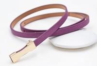 Ultrafine exquisite adjustable mixed pigskin thin belt female genuine leather belt strap belly chain