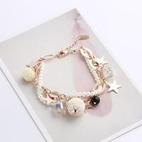 Crystal multi-layer fashion bracelet female hand accessories