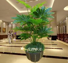 Árvore Artificial plantas artificiais pequeno bonsai bonsai pachira único pólo sorte(China (Mainland))