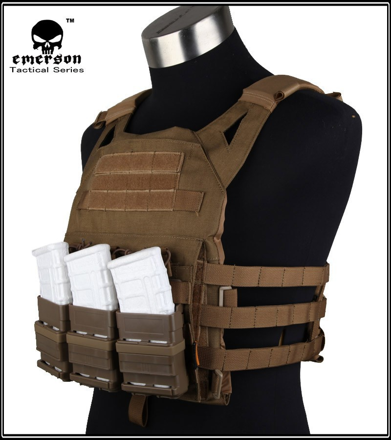 1000d Cordura Emerson Jpc Vest Simplified Version Coyote Tactical Vest