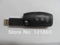 2014 Wholesale hotsale Fashion Ford car key 4GB-64GB USB Flash 2.0 Memory Drive Stick Pen/Thumb/Car free shipping(N411)