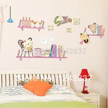 bookshelf decorations promotion