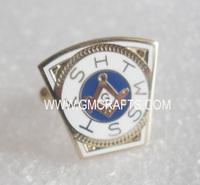 Holy Royal Arch Freemason Masonic cufflinks, brass material, epola process, gold plated
