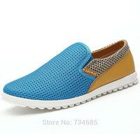 2014 Men Sandals Summer Men Shoes  Breathable Mesh shoes ,Men's Casual Shoes Sports Shoes for Men ,3 color ,size 39-44