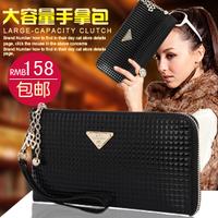 Vicat genuine leather day clutch female 2014 female fashion clutch bag fashion evening bag