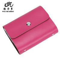 2014 genuine leather card holder multi card holder card case card holder cowhide card case