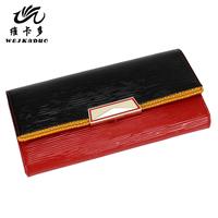 Vicat wallet female long design day clutch female cowhide folder wallet 2013 women's