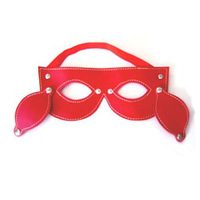 22*9.5cm/8.66*3.74in Leather Mask Spider Man Red Color Super Hero Adult Games Sex Products