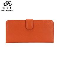 2013 women's wallet female long design ultra-thin wallet genuine leather wallet