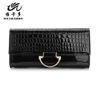 Vicat 1212 2013 wallet women's genuine leather wallet female long design wallet