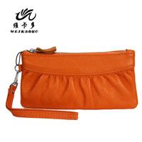Women's day brief clutch coin purse genuine leather clutch bag women's day clutch handbag