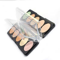 4Set new 2014 France original brand Stage makeup PartyQueen 5 colors cream concealer palette dropship free shipping